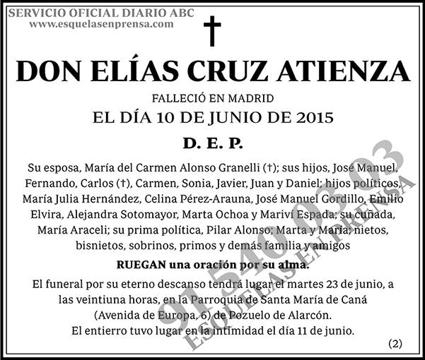 Elías Cruz Atienza